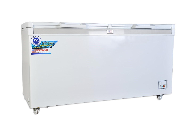 Giảm thiểu điện năng với tủ đông 2 ngăn denver