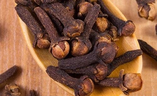 giá trị dinh dưỡng trong cây đinh hương