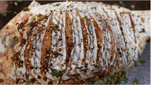 Cá hấp - Món ngon với hạt mắc khén đậm đà hương vị Tây Bắc