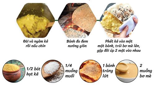 hướng dẫn làm bánh đa kê