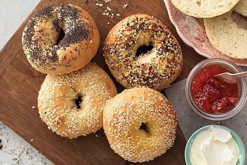 lượng tinh bột trong bánh mì tròn