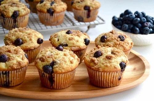 bánh muffins chứa bao nhiêu tinh bột