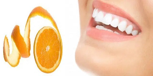 vỏ cam Tốt cho sức khỏe răng miệng