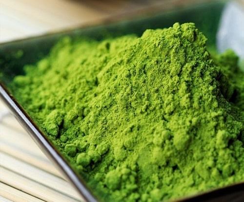 tìm hiểu về bột trà xanh