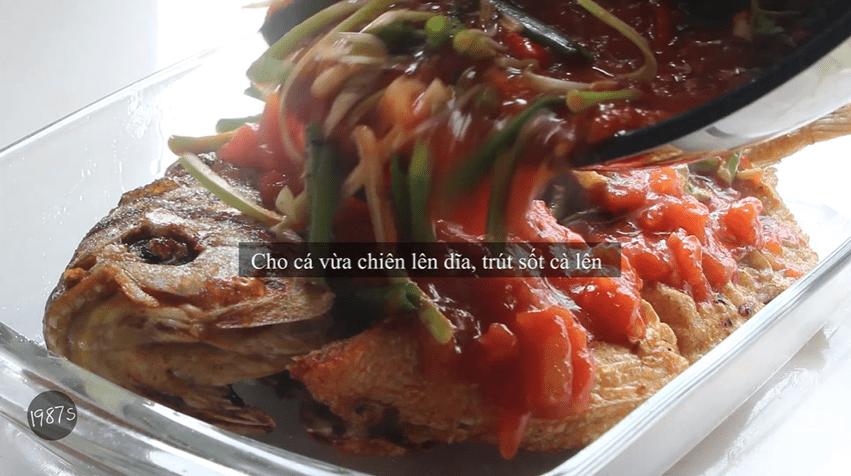 cá chim sốt cà chua