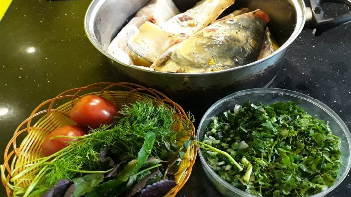 cá nấu mẻ