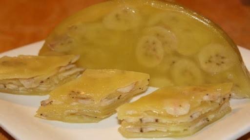 cách làm bánh chuối hấp
