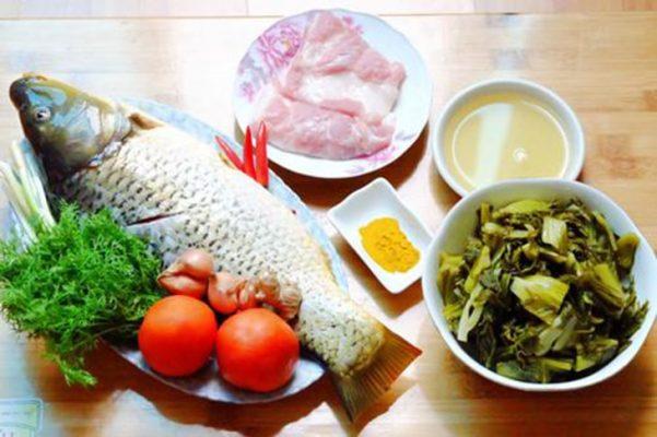 cách làm cá om dưa