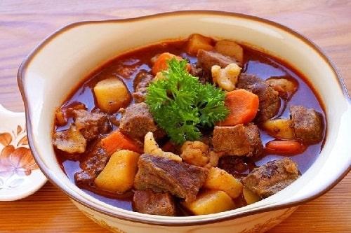 thịt bò kho món ăn đặc trưng tết bắc