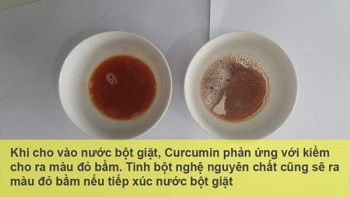 Kiểm tra chất lượng curcumin trong tinh bột nghệ: