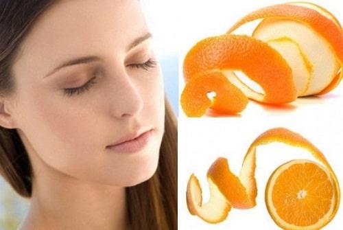 Điều trị đau đầu, mất ngủ bằng vỏ cam