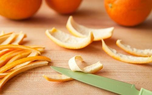 vỏ cam có công dụng gì