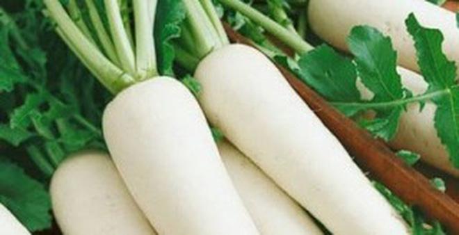 Công dụng kì diệu của nước ép củ cải trắng