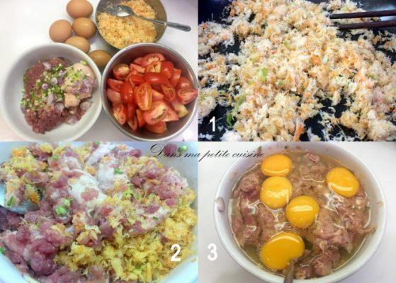 cách nấu bún riêu thịt