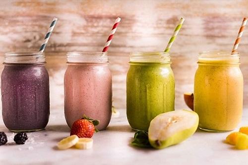 lượng carbs trong các đồ uống sinh tố