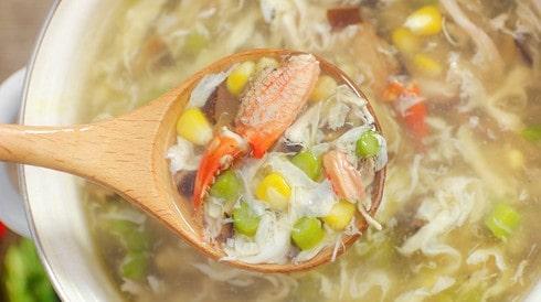 súp cua ngon